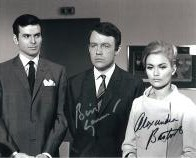 """The Champions"" signed autograph Alexandra Bastedo & William Gaunt #3"