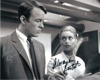 """The Champions"" signed autograph Alexandra Bastedo & William Gaunt #6"