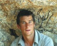 Bear Grylls (Adventurer) - Genuine Signed Autograph 8037