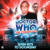 "Big Finish Seven Keys to Doom ""the Stageplays"" signed by Trevor Martin"