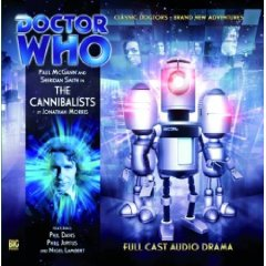 "Big Finish ""The Cannibalists"" signed by Phil Davis"