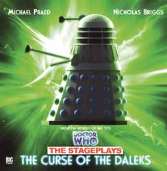 "Big Finish The Curse of the Daleks ""The Stageplays"" signed by Nick Briggs"