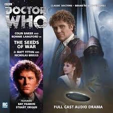 Big Finish The Seeds of war sign by Bonnie Langford + 2 more