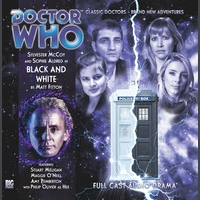 Black and White Doctor Who Big Finish CD