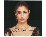 Charlotte Lewis (Embrace the Vampire) - Genuine Signed Autograph 7765