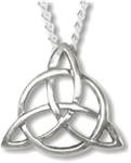 Charmed Triquetra pendant