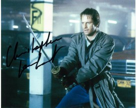 Christopher Lambert 'Connor McLeod' in Highlander #2