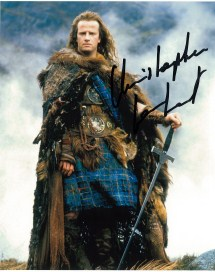 Christopher Lambert 'Connor McLeod' in Highlander