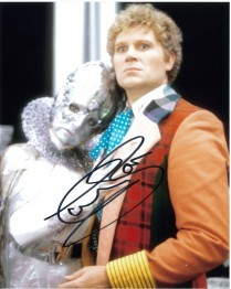 Colin Baker as the Doctor Signed 10 x 8 Photograph #p21