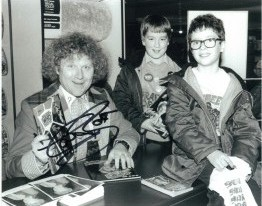 Colin Baker as the Doctor Signed 10 x 8 Photograph #p25