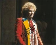 Colin Baker as the Doctor Signed 10 x 8 Photograph #p29