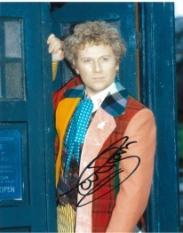 Colin Baker as the Doctor Signed 10 x 8 Photograph #p9