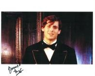Daniel King signed autograph from Dr Who