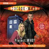 Doctor Who - Project Who? signed by Rob Sherman
