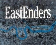 EastEnders Cast Shot (x8 Autographs) - Genuine Signed Autograph 7997