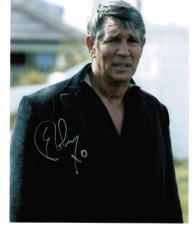 "Eric Roberts ""Batman Returns"", ""Heroes"" & ""Dr Who"" rare autograph signed 10 by 8 with COA"