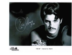 "Eric Roberts star of ""Batman Returns"", ""Heroes"" & ""Dr Who"" rare autograph signed 10 by 8 with COA"