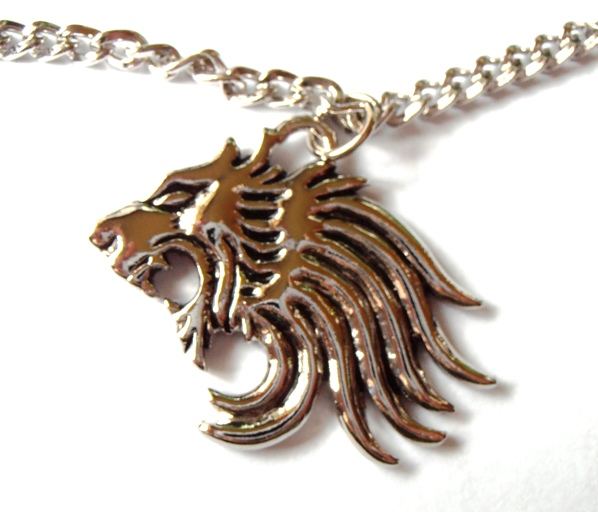 Final fantasy ff squall s lion heart pendant necklace chain cosplay mozeypictures Image collections