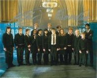 Harry Potter Cast Shot (x3 Autographs) - Genuine Signed Autograph 7367
