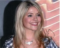 Holly Willoughby (Presenter) - Genuine Signed Autograph 6752