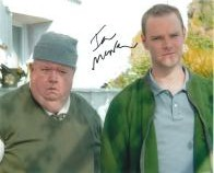 Ian McNeice - Genuine Signed Autograph 6771