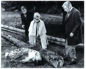 Jacqueline Pearce from Hammer Horror 10 X 8 signed autograph