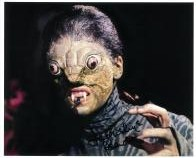 Jacqueline Pearce The Reptile - 10 X 8 genuine signed autograph
