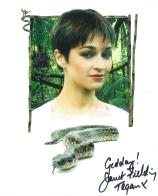 Janet Fielding (Doctor Who) - Genuine Signed Autograph 7210