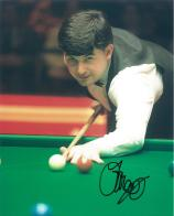 John Parrott (Snooker Champion) - Genuine Signed Autograph (1)