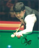 John Parrott (Snooker Champion) - Genuine Signed Autograph