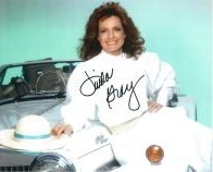 Linda  Gray star of Dallas hand signed autograph #4