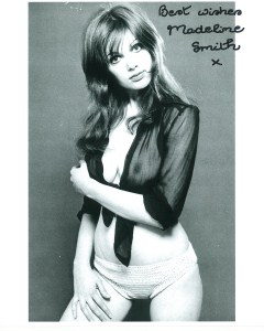 Madeline Smith Hammer Horror Star Vampire Lovers #b