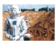 Mark Hardy (Doctor Who Cyberman) - Genuine Signed Autograph 7384