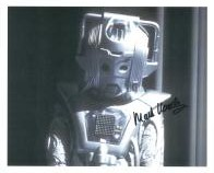 Mark Hardy (Doctor Who Cyberman) - Genuine Signed Autograph 7385