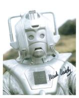 Mark Hardy (Doctor Who Cyberman) - Genuine Signed Autograph 7386