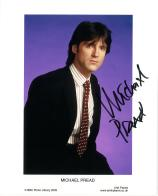 Michael Pread (Robin of Sherwood) - Genuine Signed Autograph