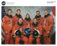 NASA (Space crew for Shuttle Mission STS-90) - Genuine Signed Autograph 7988