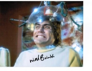 "Nick Brimble from Robin Hood ""Prince of Thieves"", Space 1999, Lust of a Vampire etc signed 10 by 8"