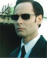 Paul Goodard (The Matrix) - Genuine Signed Autograph 7423