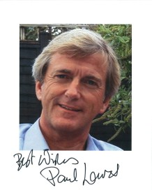 Paul Lavers Signed 10 x 8 Photograph
