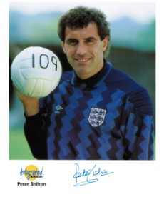 Peter Shilton OBE England and Leicester
