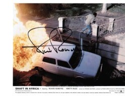 "Richard Roundtree star of ""Shaft in Africa"" lobby card #2"
