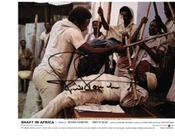 "Richard Roundtree star of ""Shaft in Africa"" lobby card #3"