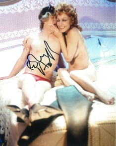Robin Askwith hand signed autograph #12