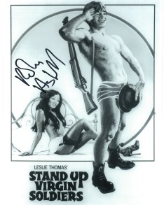 Robin Askwith hand signed autograph #14