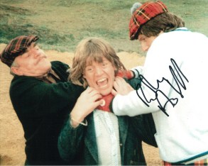 Robin Askwith hand signed autograph #15