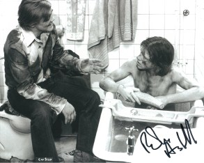Robin Askwith hand signed autograph #16