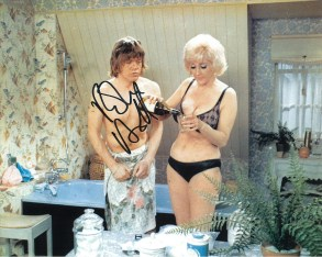 Robin Askwith hand signed autograph #20
