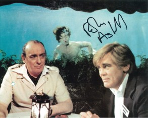 Robin Askwith hand signed autograph #6