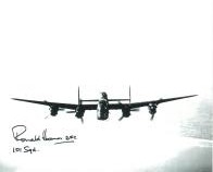 Ronald Holmes (WW2 Pilot) - Genuine Signed Autograph 7740
